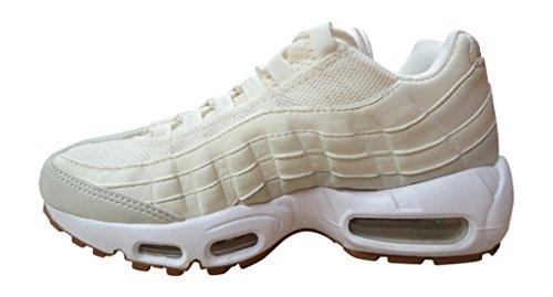 Nike 307960-103, Sneakers trail-running fille Blanc