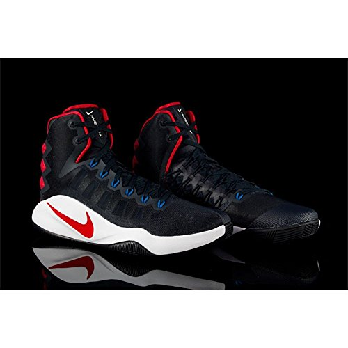 Nike Hyperdunk 2016, Scarpe da Basket Uomo Black (nero (ossidiana scuro / ossidiana scura))