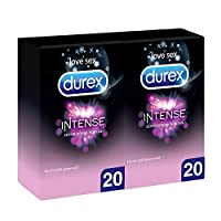 Durex Intense Prezervatif, 40'lı 1 Paket (1 x 40 Adet)