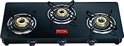 Prestige Marvel Glass-Top Gas Tables, GTM 03L, 3 Burner