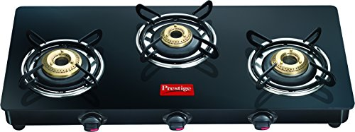 Prestige Marvel Glass-Top Gas Tables, Gtm 03l, 3 Burner