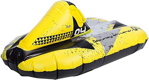 Restart Super Gonflable Planche à Neige Luge plein D'Entrain Blizzard 102 cm Jaune
