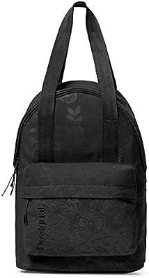 Desigual School Bag Ethnic Negra Talla Única negro