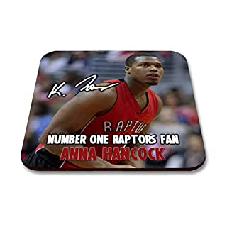Star Prints UK Kyle Lowry - Toronto Raptors - NBA 1 Personalised Gift Drink Coaster Mat Autograph Print (with Personalised Message)