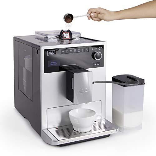 Auch Kaffeepulver verarbeitet das Gerät