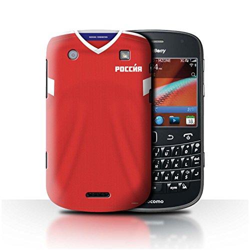 Stuff4® Hülle/Case für BlackBerry Bold 9900 / Russland/Russisch Muster/Weltmeisterschaft 2018 Fußball Trikot Kollektion -