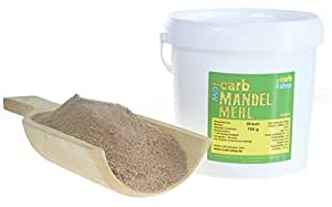 -Carb MANDELMEHL (braun entölt) 750 g