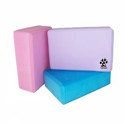 PROTONE Yoga block - Stabil / Fest / Leicht EVA-Schaum stütze block