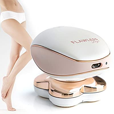 Smooth Touch Flawless Legs Women's Hair Remover- Painless Ladies Shaver?Women Electric Shaver with Facial Hair Removal?Women's Body Shaver