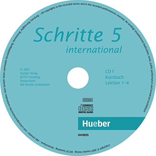 Schritte international 5: Deutsch als Fremdsprache / 2 Audio-CDs zum Kursbuch