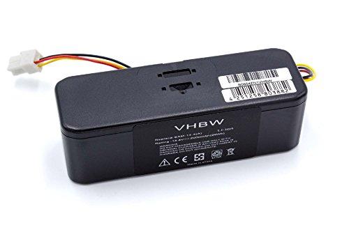 vhbw® Akku Ersatzakku Li-Ion 2000mAh (14.4V) für Samsung Navibot der VR-Series und Samsung Navibot Airfresh der SR-Series Staubsauger Saugroboter