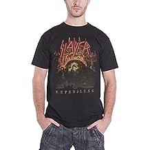 Slayer T Shirt Repentless world Tour 2015 Nue offiziell Herren Schwarz
