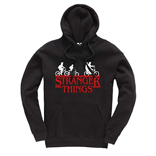 Stranger Things Bike Printed Hoodie Title TV Series Netflix Inspired UnisexPullover Hood