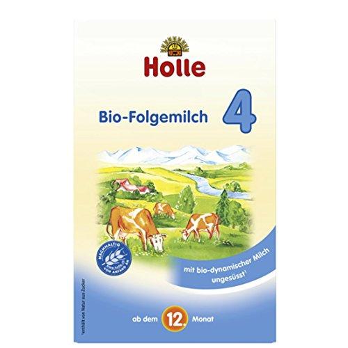Holle Bio-Folgemilch 4, ab dem 12. Monat, 4er Pack (4 x 600 g)