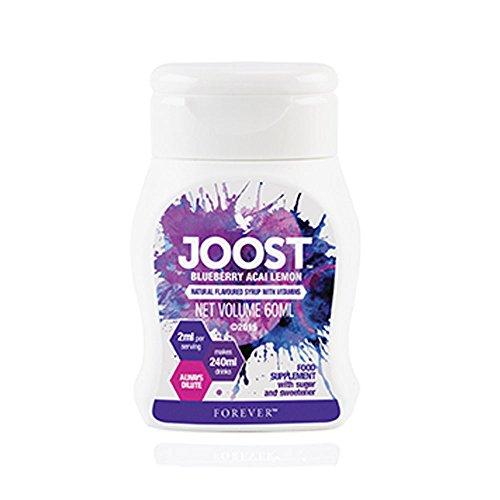 JOOST™ Blaubeere Acai Zitrone Fruchtkonzentrat Nahrungsergänzungsmittel mit Vitamin C Vitamin B6 Vitamin B12 Folsäure Forever Living FLP