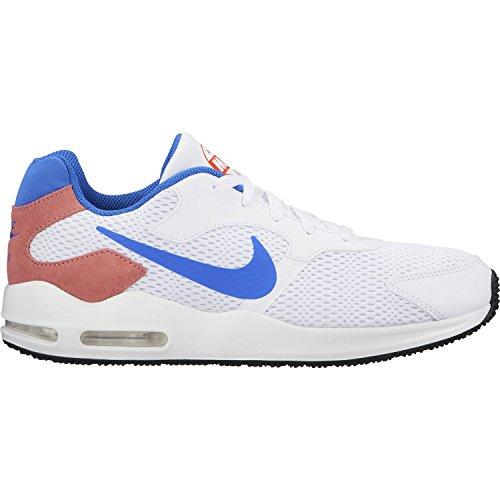 Nike Herren Air Max Guile Freizeitschuhe, Weiß (weiß / blau / rot weiß / blau / rot), 45.5 EU