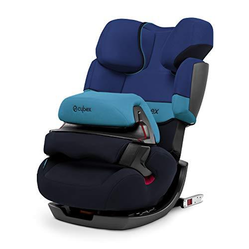 Cybex Silver Pallas-fix, Autositz Gruppe 1/2/3 (9-36 kg), mit Isofix, Kollektion 2018, Blue Moon