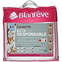 Blanrêve ctbiovd022020–Edredón Eco oficial muy cálida algodón, 200x 200cm), color blanco