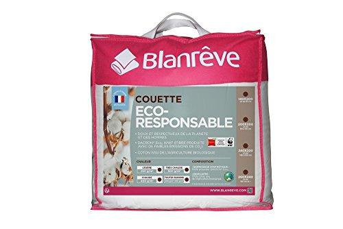 Blanrêve Couette Eco Responsable Toutes Saisons 260 x 240