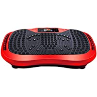 Preisvergleich für H&Y Fitness Vibrationsplatte - Crazy Fit Massage Fitness Oszillierende Vibration Power Platte - 120 Geschwindigkeit, 200W Silent Drive Motor, Griff mit Rad, 5 Übungsprogramme