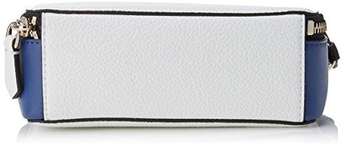 Guess Hobo, Borsa a Tracolla Donna, 6.5x12x18.5 cm (W x H x L) Multicolore (White Multi)