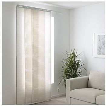 Ikea FÖNSTERVIVA Tenda a Pannello, Bianco/Beige 60x300 cm ...