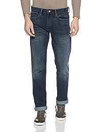 Gap men's  Washwell Dark Indigo Jeans in Slim Fit with GapFlex