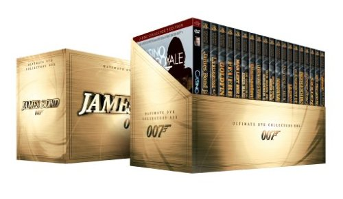 James Bond 007 – Collector's Box-Set [Collector's Edition] [21 DVDs]