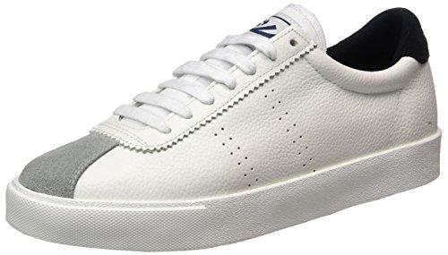 Superga 2843 Etumbleleasueu Sneaker Donna Bianco White/Black 45 EU l2J