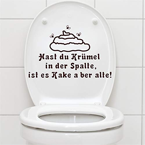 Adesivo Murale Wall Stickers Frase Citazione Adesivi Murali Decorazione Wc Kast Da Krümel In Der Spalte Per Wc Wc Sticker