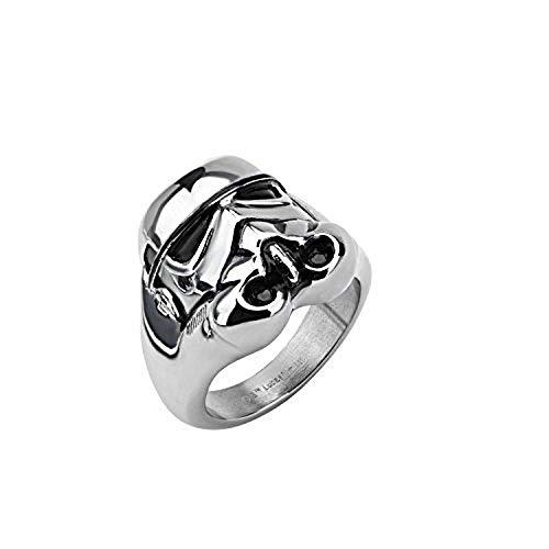 Star Wars offiziell lizenzierte Edelstahl 3D Stormtrooper Ringgr??e 6mm
