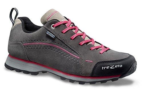 TREZETA Shoes Donna Spring WP Grey-Magenta Grey-Magenta