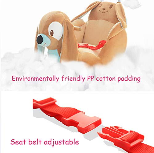 JTYX Baby Trojan Toy Rocking Chair Rocking Cradles Music Animal Rocking Horse Birthday Gift JTYX ★ Convenient and practical: This product allows the baby to exercise, grasp, climb, kick, squat, shake, etc., so that the baby can play easily. ★Removable design: The seat cover is detachable, easy to clean, safe in material and does not fade. Made of solid wood and plush, it is more comfortable and safer. ★Universal silent wheel design: 360° rotation, flexible, no damage to the floor, no noise, suitable for all kinds of road surface, scientific swing, anti-rollover, safer, adjustable safety buckle design, adjustable length, practicality, energy Effectively prevent your baby from falling and getting hurt 3
