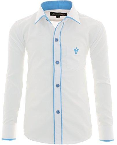 Gillsonz - camicia - classico  - ragazzo bianco 12 anni