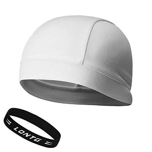 6473872246f734 Skullcap Sporthut Skully Helm Flexibel Unisex Mütze Kappe Schnell Trockned  Atmungsaktiv Fahrrad Cap für Damen und