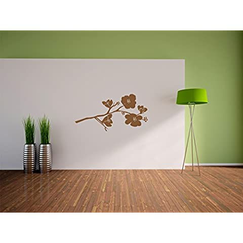 Apple fiori Adesivo, murale, autoadesivi della parete, autoadesivi della parete decorazione per soggiorno, camera da letto e bambini Formato: 1200x610mm