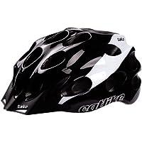 Catlike Tako - Casco de ciclismo, color negro / blanco brillo, talla LG (58-62 cm)