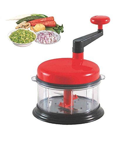 WebelKart Ultimate Chop N Churn Multifunctional Food Processor For Vegatable & Fruit with Good Quality Made from stainless steel Blade and Plastic Handle  available at amazon for Rs.299