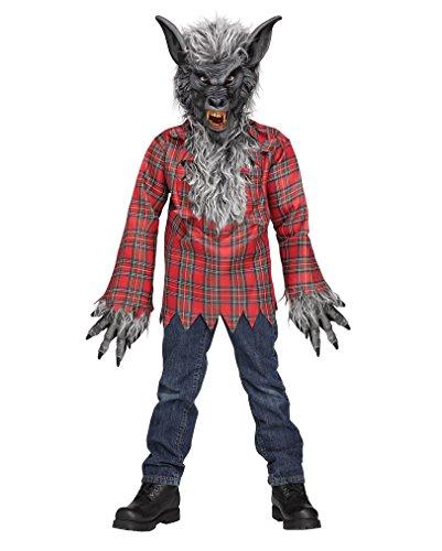 m Grau Gr.M (Werwolf-jungen Kostüm)
