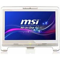 MSI AE1921-403EU 19 inch All-in-One Touch Screen PC (Intel Atom D525 1.8GHz Processor, 2GB RAM, 320GB HDD, USB 2.0, 4-in-1 Card Reader, Wi-Fi, No OS)