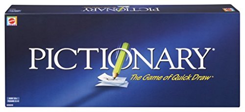 Mattel Pictionary - The Game of Quick Draw, Blue