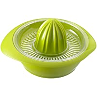 Westmark Zitruspresse mit Behälter, Durchmesser: 18,7 cm, Fassungsvermögen: 0,5 Liter, Kunststoff, Limetta, Apfelgrün, 3091227A
