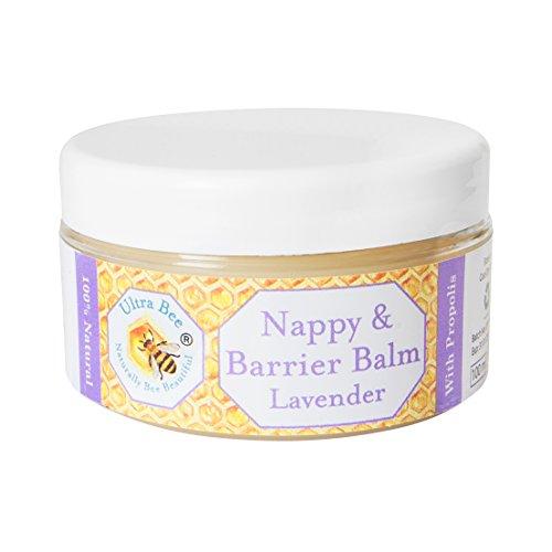 Baby Balsam Windel Ausschlag Behandlung - Bienen Propolis Honig und Lavendel 125ml - 100% natürlich - Sanfte Baby-balsam