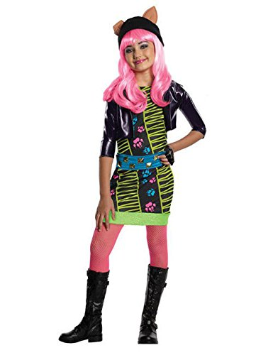 High Monster Kostüm Howleen - Monster High Howleen 13 Wishes Kinder Kostüm Lizenzware bunt L