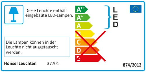 Honsel lámpara Wandleuchte Lene 37701