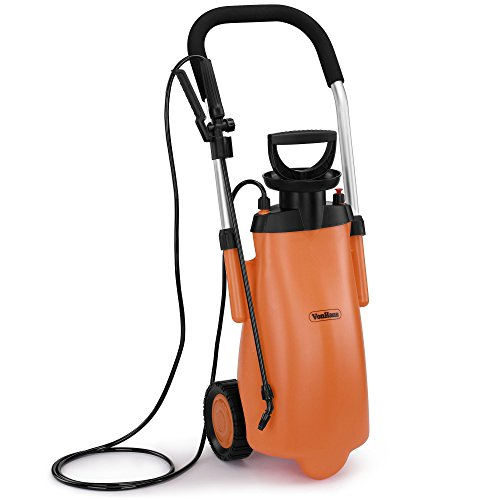vonhaus-12l-pressure-sprayer-on-wheels-portable-garden-hose-sprayer-for-watering-fertilising-pest-co