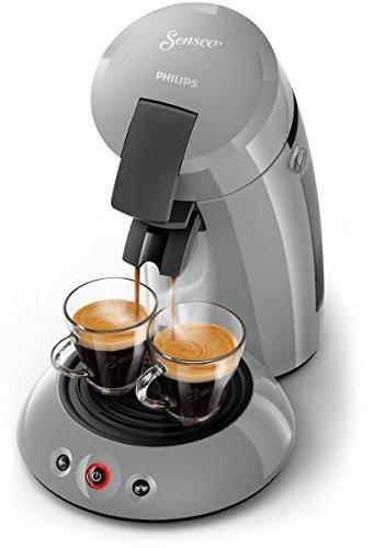 Senseo Original hd6553/70freistehend Maschine in Kaffee Kapseln 0.7L grau–Kaffeemaschine...