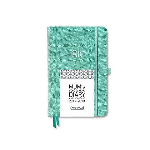 MUM's School Year Diary 2017-18 (Sea Green)