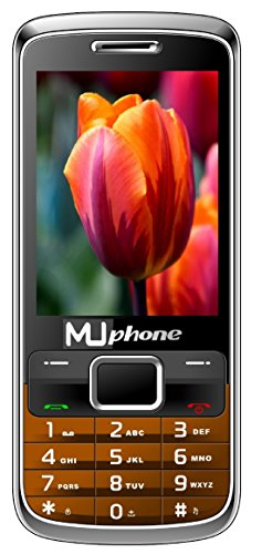 MUPHONE M520 Basic Feature Mobile Phone With DUAL SIM, 2.8 Inch Display, Speed Dialing, Auto Call Recording, FM Recording, 1700 MAh Battery, Expandable Memory,Big Speaker, BLUETOOTH, VIBRATION, CAMERA, BIS CERTIFIED & 1 YEAR (Coffee)