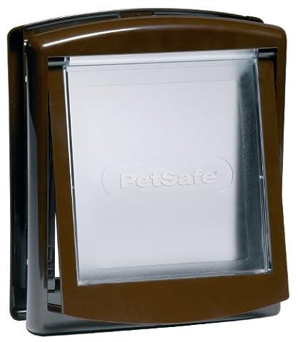 PetSafe Staywell Original 2-Way Pet Door 730EF - Small, Brown